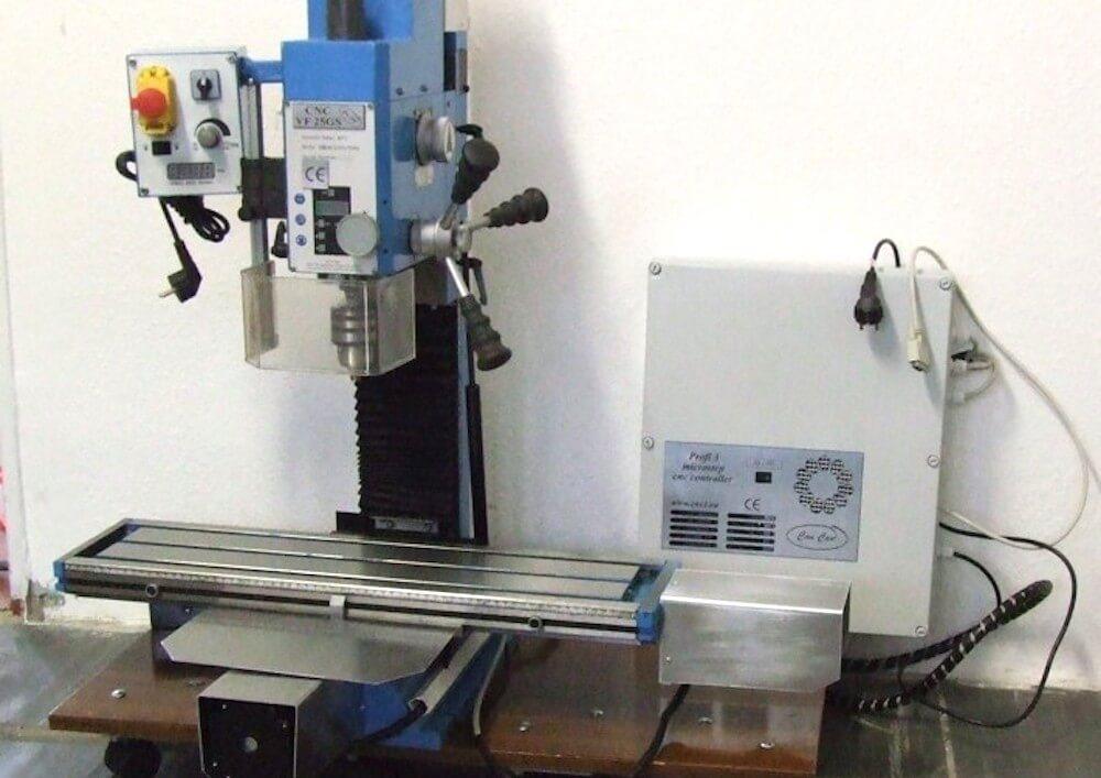 Erfahrungen mit der Bernardo KF 10 Fräsmaschine