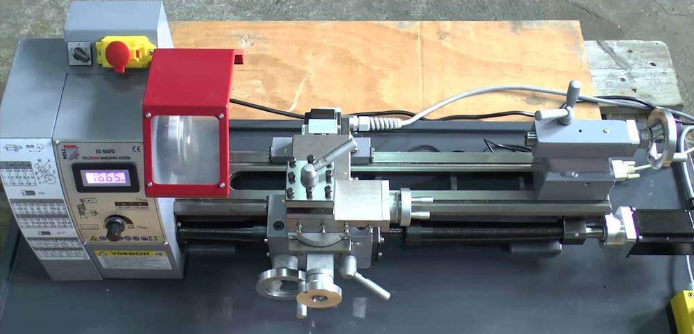 Erfahrungen mit der Holzmann ED400FD Drehmaschine