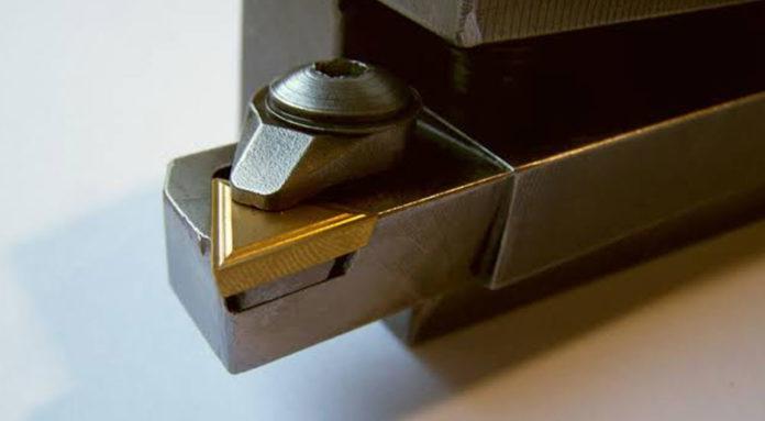 Drehmeißel-Wendeplatten-Test