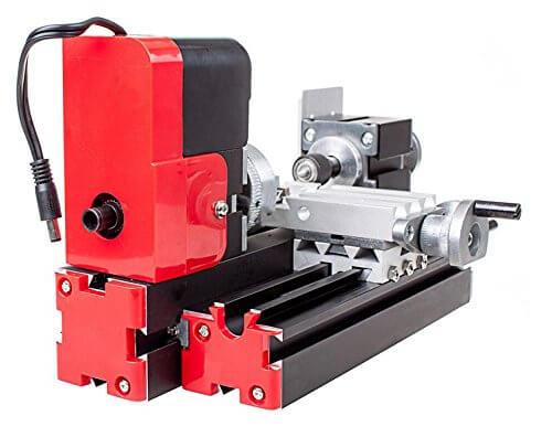 C&S Mini Metallbearbeitung Drehmaschine Test
