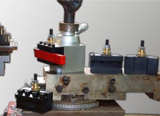 Schnellwechsel-Stahlhalter-Set für Drehbank Tes