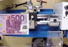 Tischdrehmaschine unter 500 Euro Test